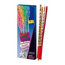 Gekleurde sterretjes 16cm