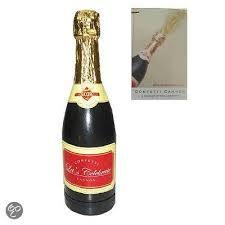 Konfetti champagnefles